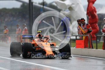 World © Octane Photographic Ltd. Formula 1 – French GP - Practice 3. McLaren MCL33 – Stoffel Vandoorne. Circuit Paul Ricard, Le Castellet, France. Saturday 23rd June 2018.