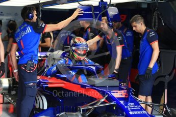 World © Octane Photographic Ltd. Formula 1 – French GP - Practice 3. Scuderia Toro Rosso STR13 – Brendon Hartley. Circuit Paul Ricard, Le Castellet, France. Saturday 23rd June 2018.