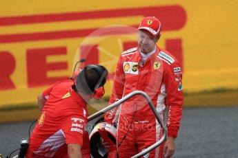 World © Octane Photographic Ltd. Formula 1 – French GP - Qualifying. Scuderia Ferrari SF71-H – Sebastian Vettel. Circuit Paul Ricard, Le Castellet, France. Saturday 23rd June 2018.