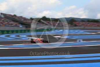 World © Octane Photographic Ltd. Formula 1 – French GP - Qualifying. Aston Martin Red Bull Racing TAG Heuer RB14 – Max Verstappen. Circuit Paul Ricard, Le Castellet, France. Saturday 23rd June 2018.
