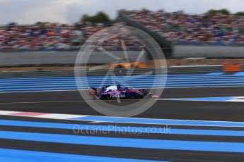 World © Octane Photographic Ltd. Formula 1 – French GP - Qualifying. Scuderia Toro Rosso STR13 – Brendon Hartley. Circuit Paul Ricard, Le Castellet, France. Saturday 23rd June 2018.