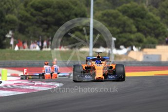 World © Octane Photographic Ltd. Formula 1 – French GP - Race. McLaren MCL33 – Fernando Alonso. Circuit Paul Ricard, Le Castellet, France. Sunday 24th June 2018.