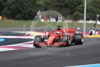 World © Octane Photographic Ltd. Formula 1 – French GP - Race. Scuderia Ferrari SF71-H – Sebastian Vettel. Circuit Paul Ricard, Le Castellet, France. Sunday 24th June 2018.