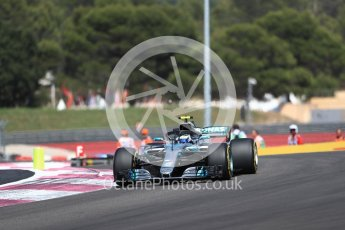 World © Octane Photographic Ltd. Formula 1 – French GP - Race. Mercedes AMG Petronas Motorsport AMG F1 W09 EQ Power+ - Valtteri Bottas. Circuit Paul Ricard, Le Castellet, France. Sunday 24th June 2018.