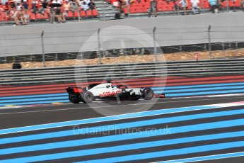 World © Octane Photographic Ltd. Formula 1 – French GP - Race. Haas F1 Team VF-18 – Romain Grosjean. Circuit Paul Ricard, Le Castellet, France. Sunday 24th June 2018.