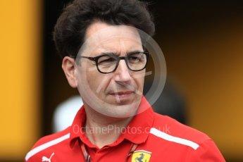 World © Octane Photographic Ltd. Formula 1 - French GP - Paddock. Mattia Binotto – Chief Technical Officer - Scuderia Ferrari. Circuit Paul Ricard, Le Castellet, France. Saturday 23rd June 2018.