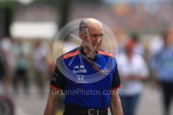 World © Octane Photographic Ltd. Formula 1 - French GP - Paddock. Franz Tost – Team Principal of Scuderia Toro Rosso. Circuit Paul Ricard, Le Castellet, France. Saturday 23rd June 2018.