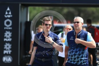 World © Octane Photographic Ltd. Formula 1 - French GP - Paddock. Rob Smedley – Head of Performance Engineering. Circuit Paul Ricard, Le Castellet, France. Sunday 24th June 2018.