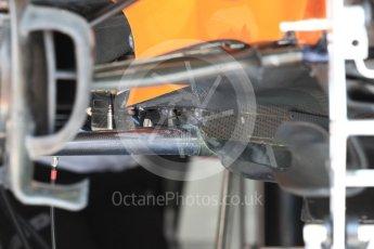 World © Octane Photographic Ltd. Formula 1 – French GP - Pit Lane. McLaren MCL33. Circuit Paul Ricard, Le Castellet, France. Thursday 21st June 2018.