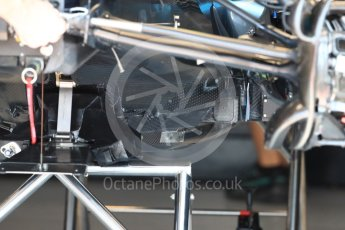 World © Octane Photographic Ltd. Formula 1 – French GP - Pit Lane. Mercedes AMG Petronas Motorsport AMG F1 W09 EQ Power+. Circuit Paul Ricard, Le Castellet, France. Thursday 21st June 2018.