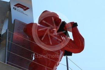 World © Octane Photographic Ltd. Formula 1 – French GP - Pit Lane. Sculpture. Circuit Paul Ricard, Le Castellet, France. Thursday 21st June 2018.