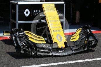 World © Octane Photographic Ltd. Formula 1 – French GP - Pit Lane. Renault Sport F1 Team RS18. Circuit Paul Ricard, Le Castellet, France. Thursday 21st June 2018.