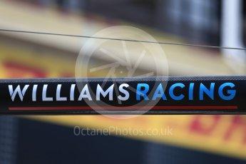World © Octane Photographic Ltd. Formula 1 – French GP - Pit Lane. Williams Martini Racing. Circuit Paul Ricard, Le Castellet, France. Thursday 21st June 2018.
