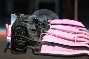 World © Octane Photographic Ltd. Formula 1 – French GP - Pit Lane. Sahara Force India VJM11. Circuit Paul Ricard, Le Castellet, France. Thursday 21st June 2018.