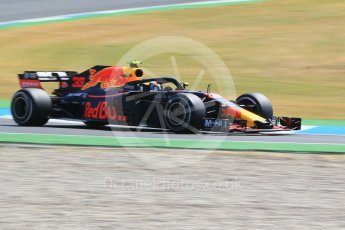 World © Octane Photographic Ltd. Formula 1 – German GP - Practice 1. Aston Martin Red Bull Racing TAG Heuer RB14 – Max Verstappen. Hockenheimring, Baden-Wurttemberg, Germany. Friday 20th July 2018.