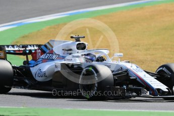 World © Octane Photographic Ltd. Formula 1 – German GP - Practice 1. Williams Martini Racing FW41 – Lance Stroll. Hockenheimring, Baden-Wurttemberg, Germany. Friday 20th July 2018.