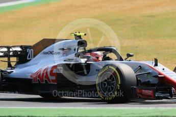 World © Octane Photographic Ltd. Formula 1 – German GP - Practice 1. Haas F1 Team VF-18 – Kevin Magnussen. Hockenheimring, Baden-Wurttemberg, Germany. Friday 20th July 2018.
