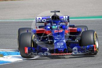 World © Octane Photographic Ltd. Formula 1 – German GP - Practice 1. Scuderia Toro Rosso STR13 – Brendon Hartley. Hockenheimring, Baden-Wurttemberg, Germany. Friday 20th July 2018.