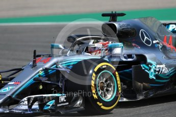 World © Octane Photographic Ltd. Formula 1 – German GP - Practice 1. Mercedes AMG Petronas Motorsport AMG F1 W09 EQ Power+ - Lewis Hamilton. Hockenheimring, Baden-Wurttemberg, Germany. Friday 20th July 2018.