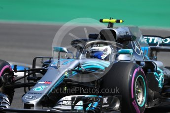 World © Octane Photographic Ltd. Formula 1 – German GP - Practice 1. Mercedes AMG Petronas Motorsport AMG F1 W09 EQ Power+ - Valtteri Bottas. Hockenheimring, Baden-Wurttemberg, Germany. Friday 20th July 2018.