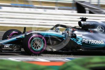 World © Octane Photographic Ltd. Formula 1 – German GP - Practice 1. Mercedes AMG Petronas Motorsport AMG F1 W09 EQ Power+ - Lewis Hamilton. Hockenheimring, Baden-Wurttemberg, Germany. Friday 20th July 2018.