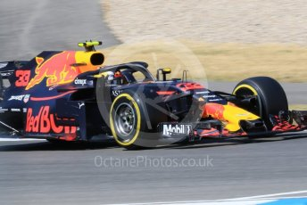 World © Octane Photographic Ltd. Formula 1 – German GP - Practice 2. Aston Martin Red Bull Racing TAG Heuer RB14 – Max Verstappen. Hockenheimring, Baden-Wurttemberg, Germany. Friday 20th July 2018.