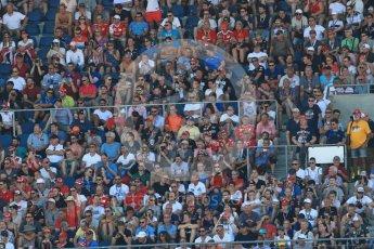 World © Octane Photographic Ltd. Formula 1 – German GP - Practice 2. Fans in the Mercedes grandstand. Hockenheimring, Baden-Wurttemberg, Germany. Friday 20th July 2018.