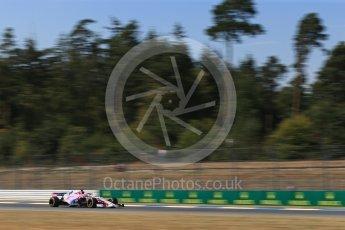 World © Octane Photographic Ltd. Formula 1 – German GP - Practice 2. Sahara Force India VJM11 - Sergio Perez. Hockenheimring, Baden-Wurttemberg, Germany. Friday 20th July 2018.