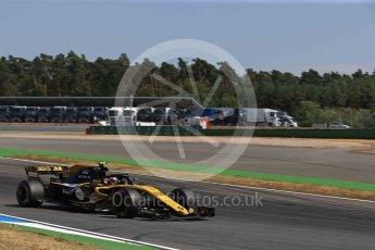World © Octane Photographic Ltd. Formula 1 – German GP - Practice 2. Renault Sport F1 Team RS18 – Carlos Sainz. Hockenheimring, Baden-Wurttemberg, Germany. Friday 20th July 2018.