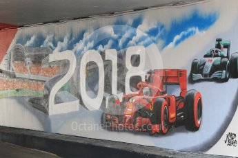 World © Octane Photographic Ltd. Formula 1 – German GP - Practice 3. Artwork. Hockenheimring, Baden-Wurttemberg, Germany. Saturday 21st July 2018.
