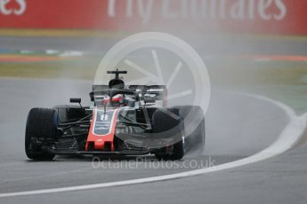 World © Octane Photographic Ltd. Formula 1 – German GP - Practice 3. Haas F1 Team VF-18 – Romain Grosjean. Hockenheimring, Baden-Wurttemberg, Germany. Saturday 21st July 2018.