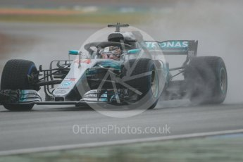 World © Octane Photographic Ltd. Formula 1 – German GP - Practice 3. Mercedes AMG Petronas Motorsport AMG F1 W09 EQ Power+ - Lewis Hamilton. Hockenheimring, Baden-Wurttemberg, Germany. Saturday 21st July 2018.