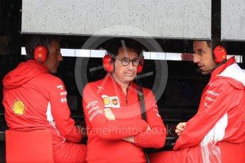 World © Octane Photographic Ltd. Formula 1 – German GP - Practice 3. Mattia Binotto – Chief Technical Officer - Scuderia Ferrari. Hockenheimring, Baden-Wurttemberg, Germany. Saturday 21st July 2018.