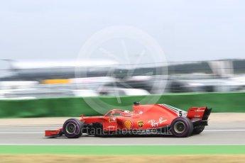 World © Octane Photographic Ltd. Formula 1 – German GP - Qualifying. Scuderia Ferrari SF71-H – Sebastian Vettel. Hockenheimring, Baden-Wurttemberg, Germany. Saturday 21st July 2018.