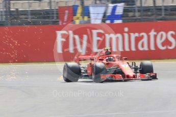 World © Octane Photographic Ltd. Formula 1 – German GP - Qualifying. Scuderia Ferrari SF71-H – Kimi Raikkonen. Hockenheimring, Baden-Wurttemberg, Germany. Saturday 21st July 2018.