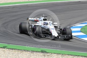 World © Octane Photographic Ltd. Formula 1 – German GP - Race. Williams Martini Racing FW41 – Lance Stroll. Hockenheimring, Baden-Wurttemberg, Germany. Sunday 22nd July 2018.
