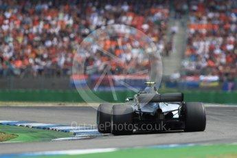 Mercedes AMG Petronas Motorsport AMG F1 W09 EQ Power+ - Valtteri Bottas. Hockenheimring, Baden-Wurttemberg, Germany. Sunday 22nd July 2018.