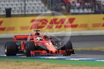 World © Octane Photographic Ltd. Formula 1 – German GP - Race. Scuderia Ferrari SF71-H – Sebastian Vettel. Hockenheimring, Baden-Wurttemberg, Germany. Sunday 22nd July 2018.