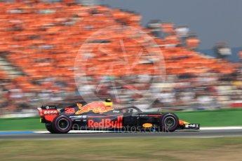World © Octane Photographic Ltd. Formula 1 – German GP - Race. Aston Martin Red Bull Racing TAG Heuer RB14 – Max Verstappen. Hockenheimring, Baden-Wurttemberg, Germany. Sunday 22nd July 2018.