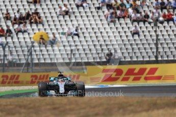 World © Octane Photographic Ltd. Formula 1 – German GP - Race. Mercedes AMG Petronas Motorsport AMG F1 W09 EQ Power+ - Lewis Hamilton. Hockenheimring, Baden-Wurttemberg, Germany. Sunday 22nd July 2018.