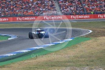 World © Octane Photographic Ltd. Formula 1 – German GP - Race. Williams Martini Racing FW41 – Sergey Sirotkin. Hockenheimring, Baden-Wurttemberg, Germany. Sunday 22nd July 2018.