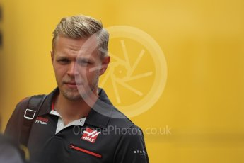 World © Octane Photographic Ltd. Formula 1 – German GP - Paddock. Haas F1 Team VF-18 – Kevin Magnussen. Hockenheimring, Baden-Wurttemberg, Germany. Sunday 22nd July 2018.