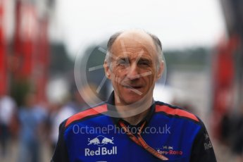 World © Octane Photographic Ltd. Formula 1 - German GP - Paddock. Franz Tost – Team Principal of Scuderia Toro Rosso. Hockenheimring, Baden-Wurttemberg, Germany. Sunday 22nd July 2018.