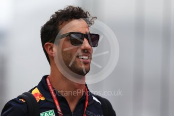 World © Octane Photographic Ltd. Formula 1 – German GP - Paddock. Aston Martin Red Bull Racing TAG Heuer RB14 – Daniel Ricciardo. Hockenheimring, Baden-Wurttemberg, Germany. Sunday 22nd July 2018.