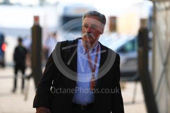 World © Octane Photographic Ltd. Formula 1 - German GP - Paddock. Chase Carey - Chief Executive Officer of the Formula One Group. Hockenheimring, Baden-Wurttemberg, Germany. Friday 20th July 2018.