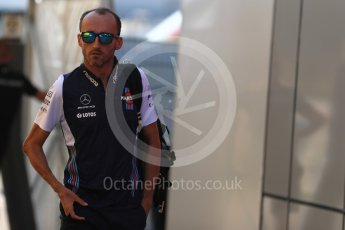 World © Octane Photographic Ltd. Formula 1 – German GP - Paddock. Williams Martini Racing FW41 – Robert Kubica. Hockenheimring, Baden-Wurttemberg, Germany. Friday 20th July 2018.