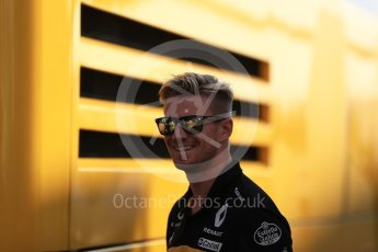 World © Octane Photographic Ltd. Formula 1 – German GP - Paddock. Renault Sport F1 Team RS18 – Nico Hulkenberg. Hockenheimring, Baden-Wurttemberg, Germany. Friday 20th July 2018.