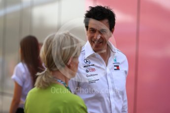 World © Octane Photographic Ltd. Formula 1 - German GP - Paddock. Toto Wolff - Executive Director & Head of Mercedes-Benz Motorsport. Hockenheimring, Baden-Wurttemberg, Germany. Friday 20th July 2018.
