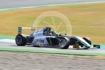 World © Octane Photographic Ltd. ADAC Formula 4 (F4). US Racing - CHRS - Lirim Zendeli. Hockenheimring Practice, Baden-Wurttemberg, Germany. Thursday 19th July 2018.