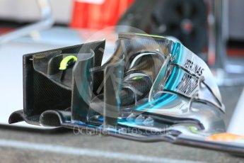 World © Octane Photographic Ltd. Formula 1 – German GP - Pitlane. Mercedes AMG Petronas Motorsport AMG F1 W09 EQ Power+. Hockenheimring, Baden-Wurttemberg, Germany. Thursday 19th July 2018.